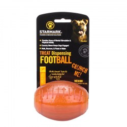 Мяч регби «Treat Dispensing Football» medium кормушка для собак - TT44